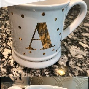 Initial Mug Letter A from Pier 1 brand new